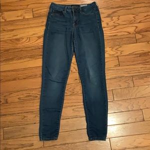 AEROPOSTALE High Waisted Jegging Sz 4 Long